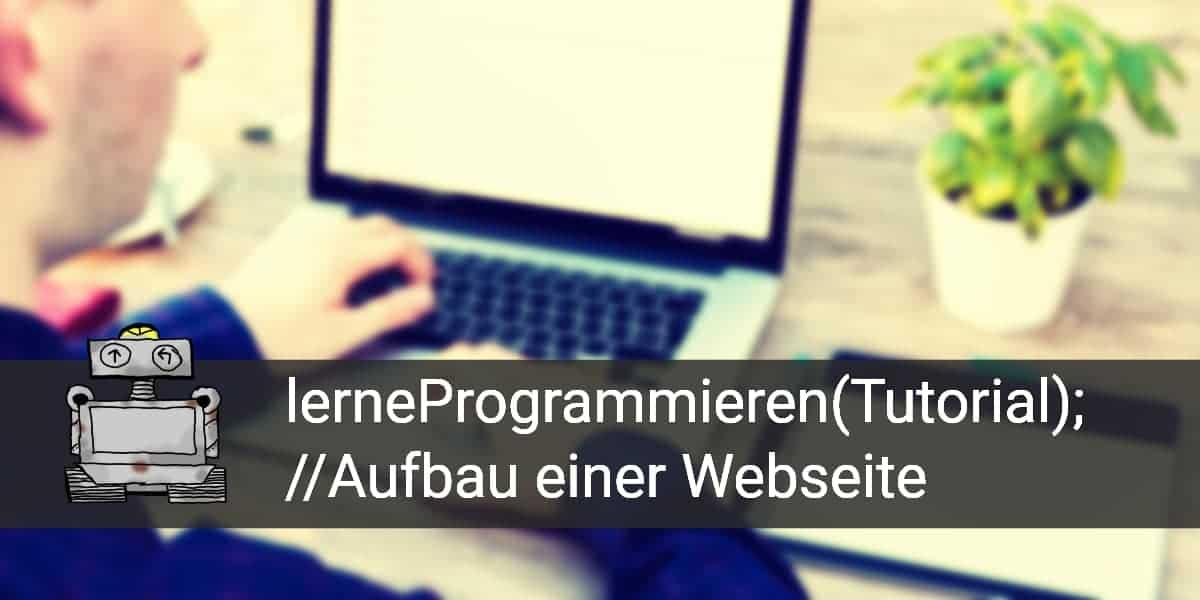Tutorial1 Webseite programmieren