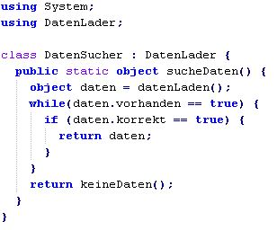 C# Codesnippet