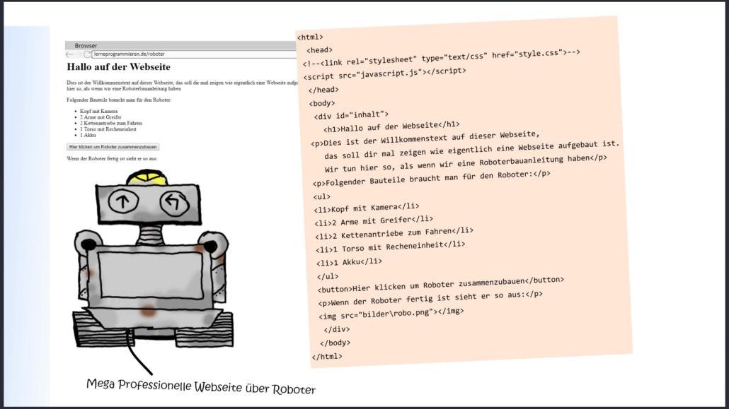 CSS Beispiel Webseite