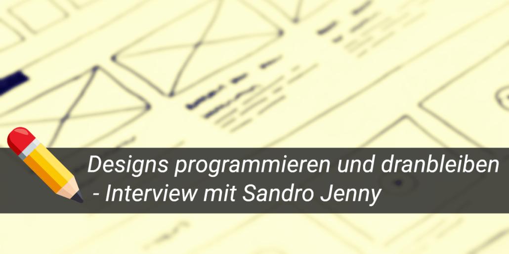 Designs entwerfen und Programmieren Erfahrungsbericht