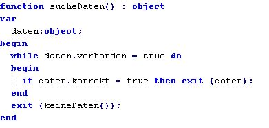 Delphi/Object Pascal Codesnippet