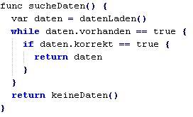 Swift Codesnippet